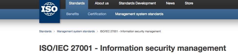 ISO Framework