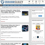 information security blogs graham cluley